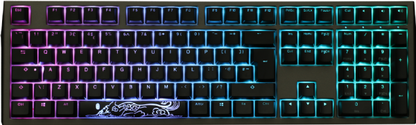 Ducky Shine 7 RGB Backlit Blue Cherry MX Switch
